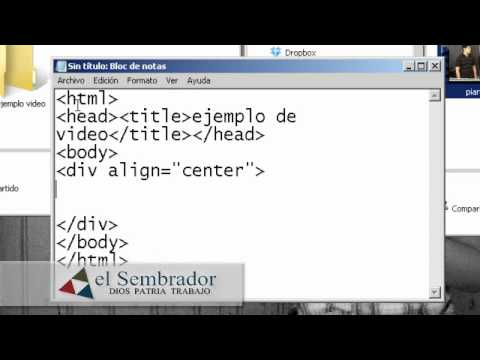 Insertar Video A Una Pagina Web Con Html