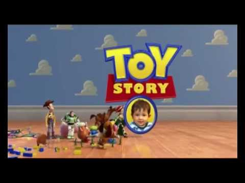 Toy story 3 invitaci n cumple primer a ito youtube - Cochon de toy story ...