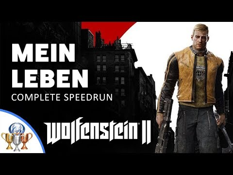 Wolfenstein 2 The New Colossus - Mein Leben Difficulty Speedrun - (2h28m)