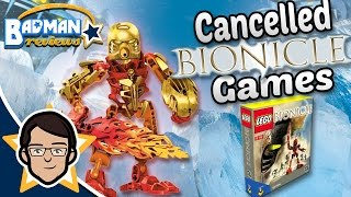 Cancelled Bionicle Games - Lost in Gaming - Badman