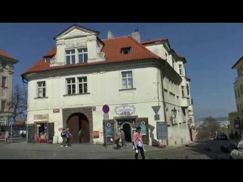 Walk around Prague Czech Republic Strahov Monastery - Prague Castle - Old Town Square - Powder Tower
