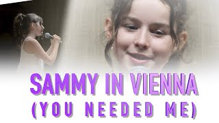 Sammy sings You Needed Me (live in Vienna, 2019)