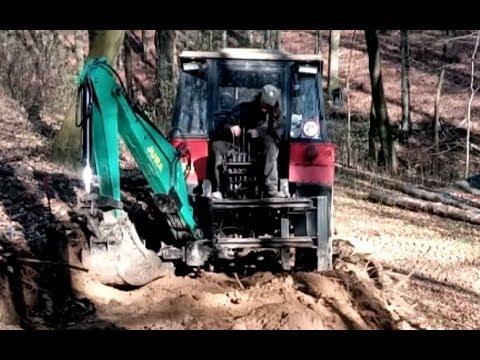 Podkop Z UNC Za Traktor - časosběr