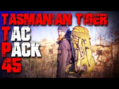 Tasmanian Tiger TT Tac Pack 45 Rucksack - Review Test (deutsch Outdoor Survival Trekking Backpacking