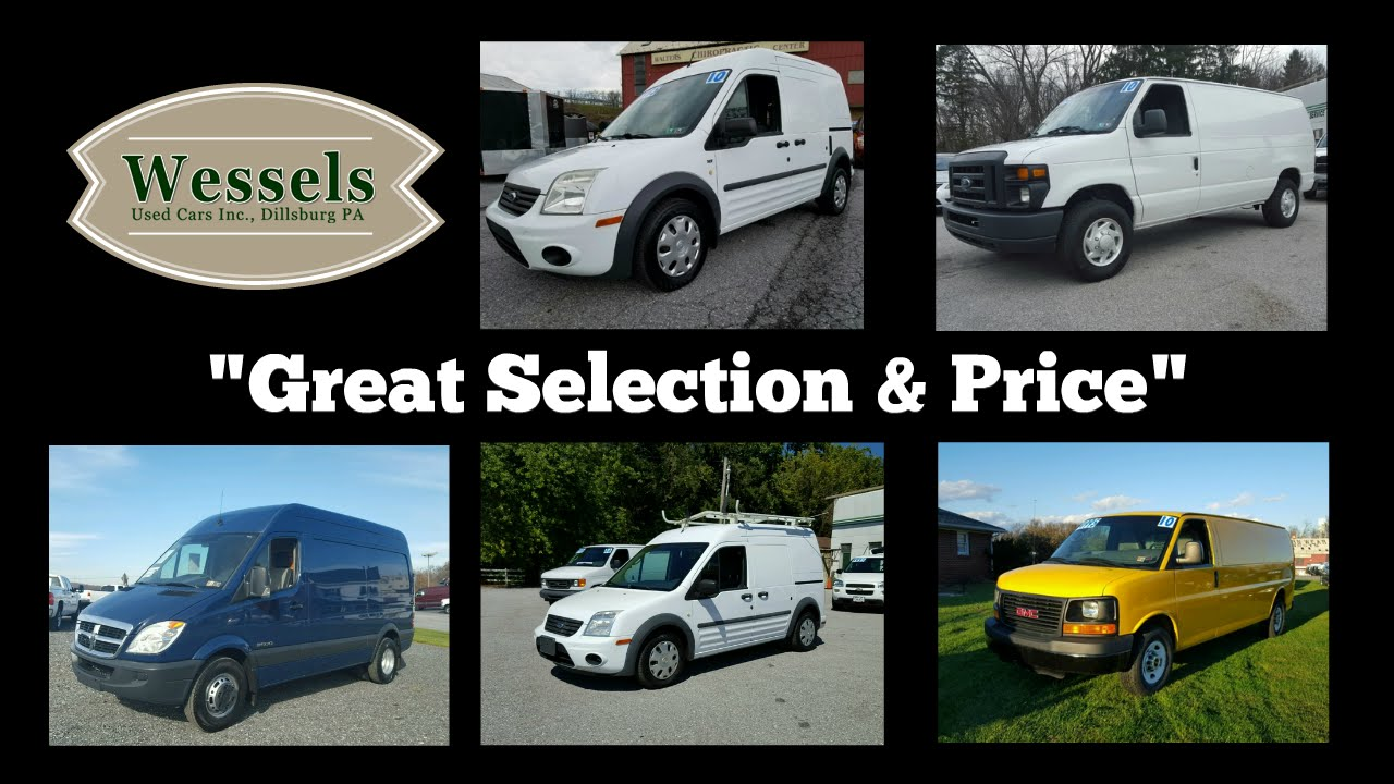 Used Cargo Vans For Sale In PA