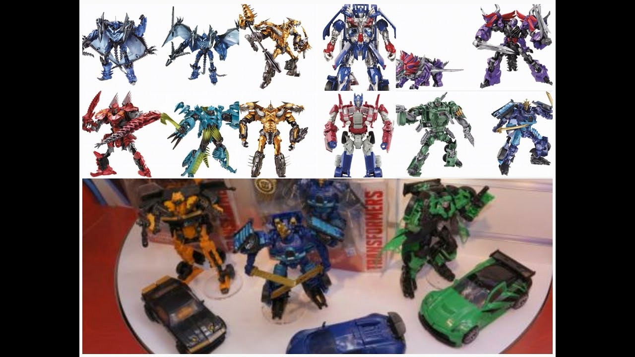 Toys For 4 : Thoughts on the transformers age of extinction toy line