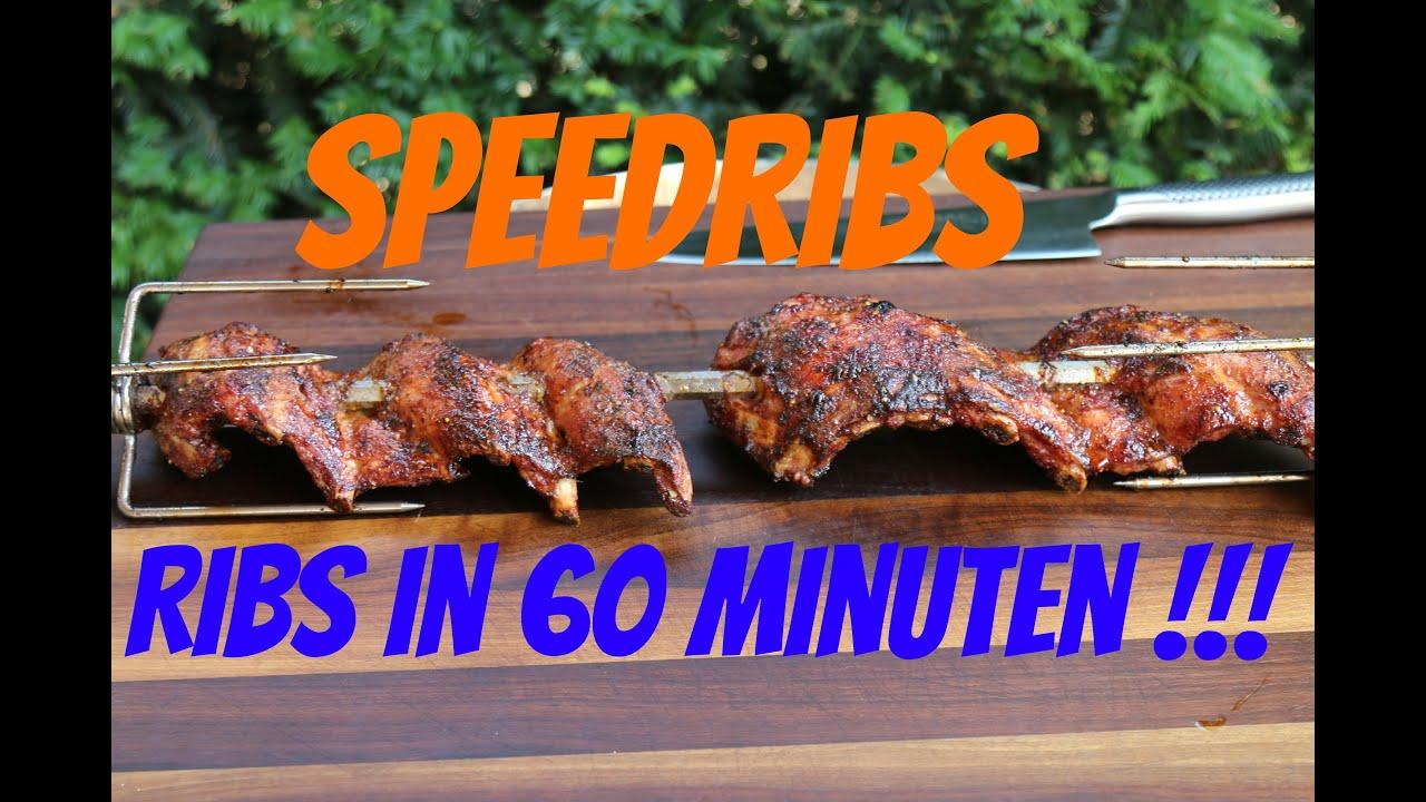 Spareribs Gasgrill Drehspieß : Speedribs vom drehspieß leckere zarte ribs in nur minuten