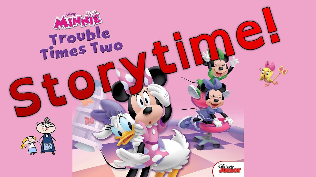 Minnie Mouse TROUBLE TIMES TWO Read Along