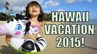 Hawaii Vacation 2015! - October 06, 2015 -  ItsJudysLife Vlogs