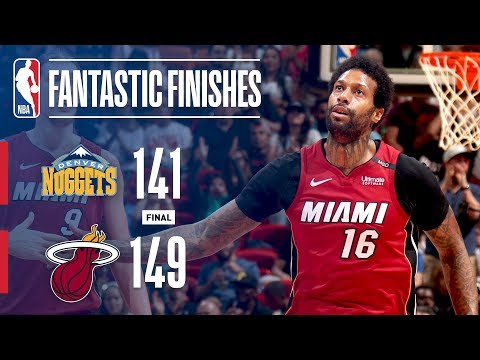 HIGHLIGHTS: Miami Heat vs. Denver Nuggets - 2OT Thriller (VIDEO)