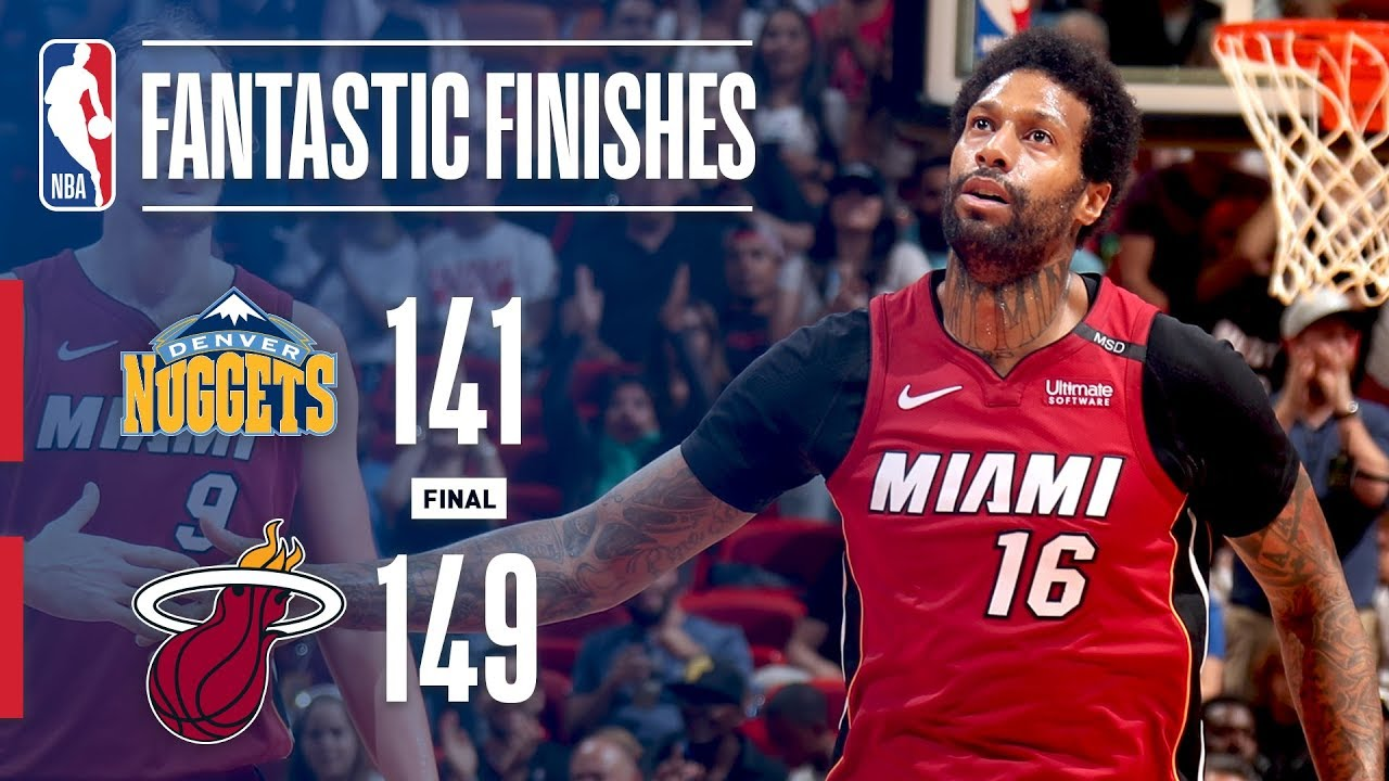 Miami Heat return with statement win over Denver Nuggets