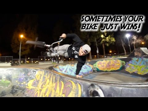 I LITERALLY THOUGHT I'D NEVER PULL THIS BMX TRICK!!