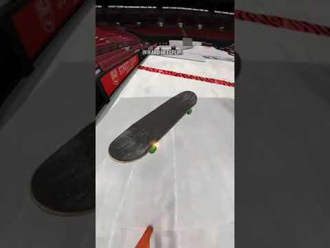 True Skate - Inward heel bs feeble