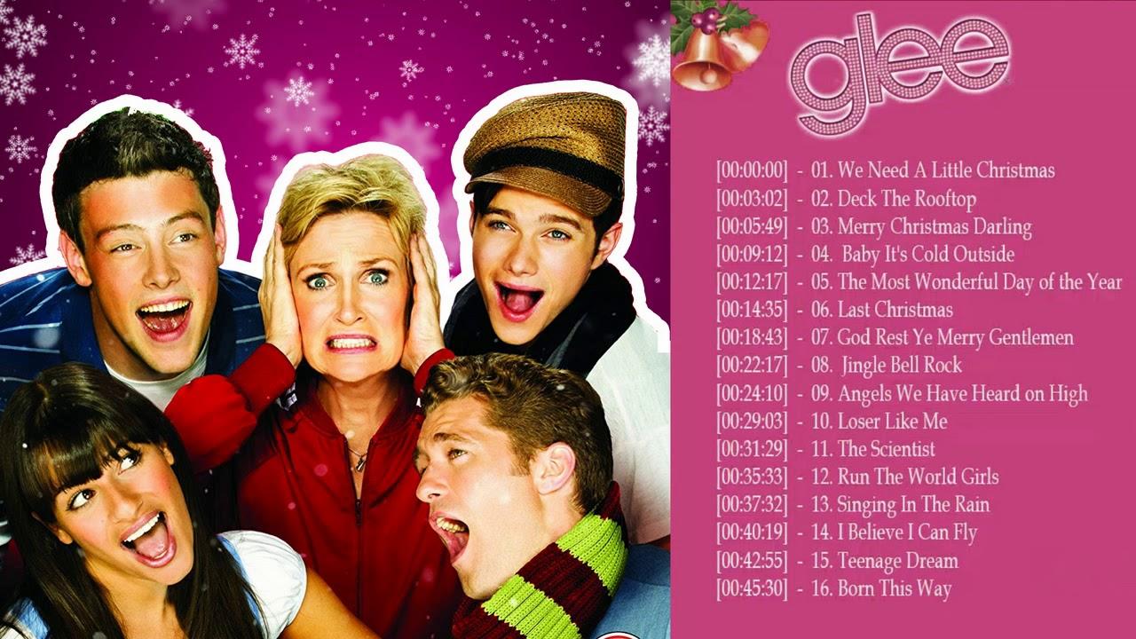 All Glee Christmas Songs Playlist - Best Glee Christmas ...