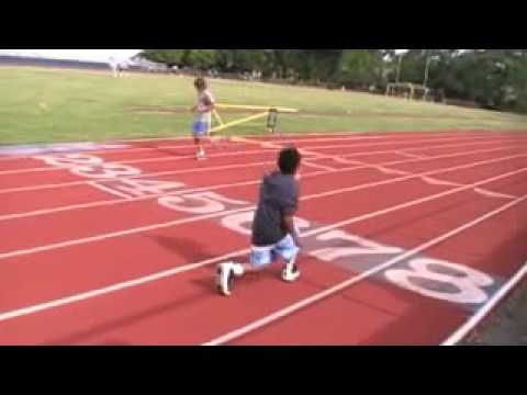 Speed training youth with Corey Nelson pt.1