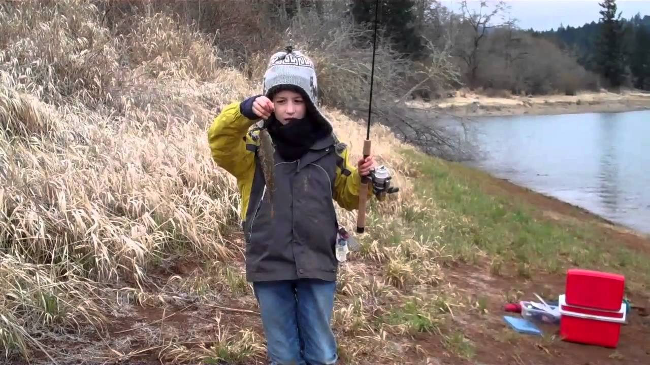 Will uncle marko fish henry hagg lake oregon march 2013 for Lake gaston fishing report