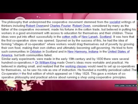 What  Is Consumer Cooperatives