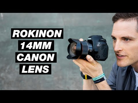 Budget Wide Angle Lens for Canon Full Frame — Rokinon 14mm f/2.8 AF Test