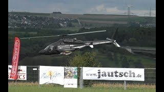 Fantastic XXL RC Airwolf from Vario / Jetpower Bad Neuenahr 2017