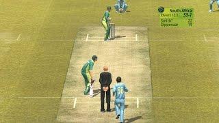 India v Pakistan gameplay on Brian Lara Cricket 2007 android