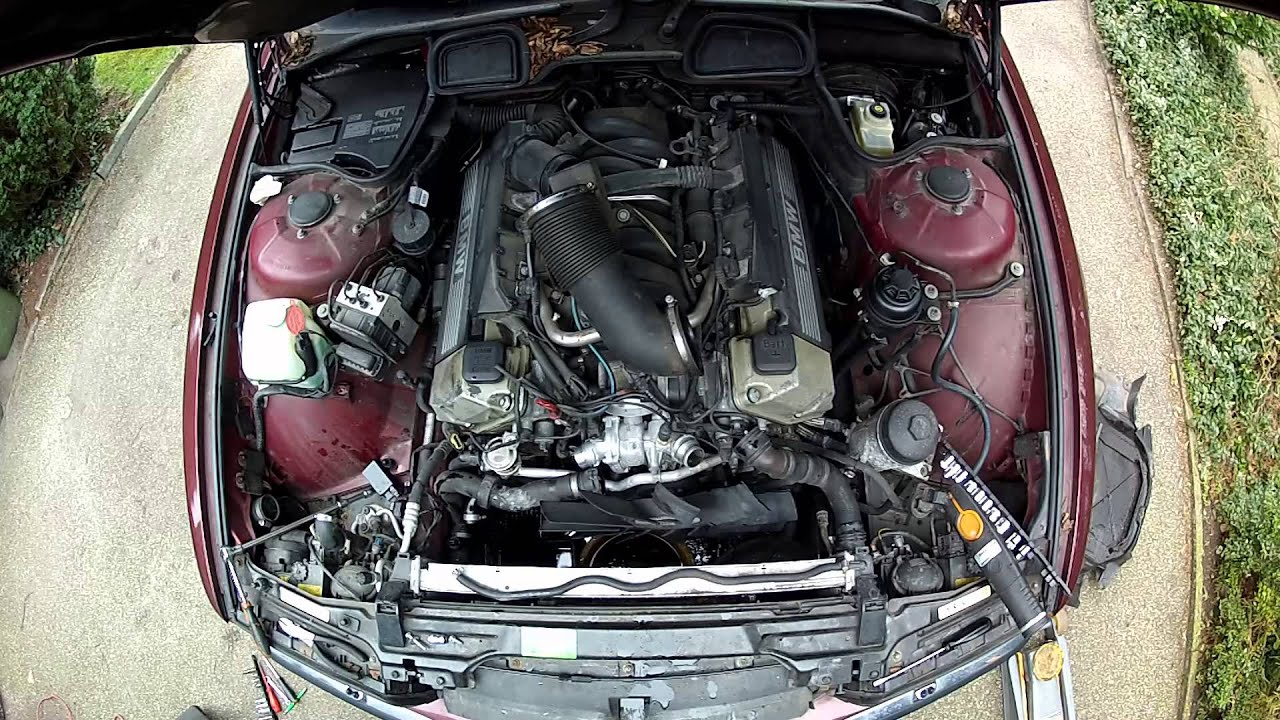 bmw m62 tu e38 and e39 alternator change part 1