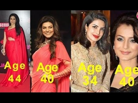9 Unmarried Bollywood Actresses Who Age More Than 30 | Bollywood Fun Facts