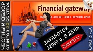 Заработок в интернете financial gatewey. финансовый шлюз/честный обзор/слив курса