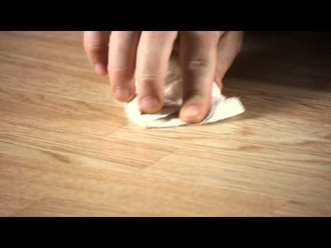 How to Remove Scratches & Scrapes on Laminate Flooring : Working on Flooring