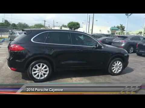 2014 Porsche Cayenne Hollywood FL 2149AT