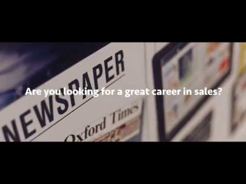Join the sales team at the Oxford Mail and our sister titles