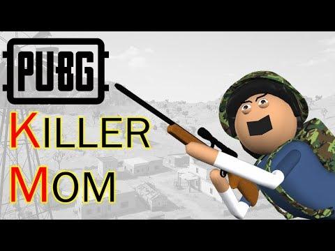 PUBG Killer Mom | पब जी किलर माँ  | Goofy Works | Comedy Toons