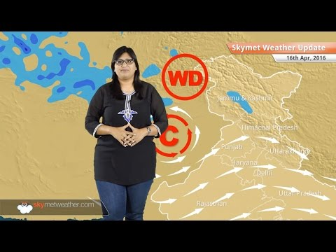 Weather Forecast for April 16: Rain in Kashmir, heatwave in Central, East and Peninsular India