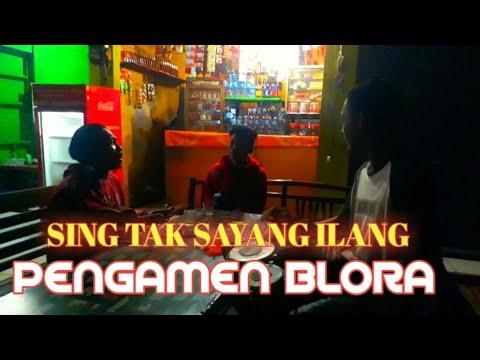 Sing Tak Sayang Ilang - Dory Harsa Cover Pengamen Kendang Peralon