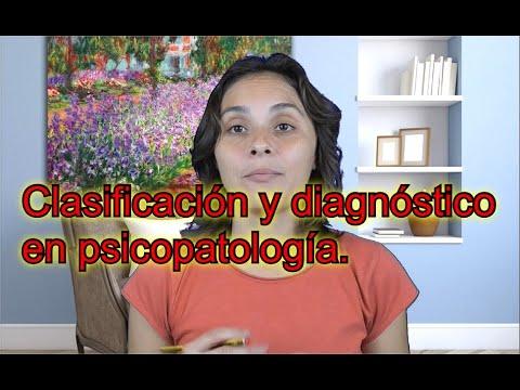 Clasificación y diagnóstico en Psicopatología (Vol.1, Cap. 4) - UNED Psicología