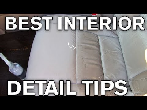 Best Interior Detailing Tricks: Leather and Plastics