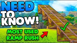 Learn The Floor + Wall Ramp Rush Easily! | Most Used In Build Fights! | Fortnite Battle Royale