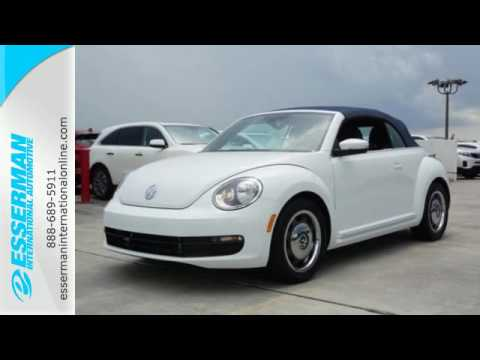 New 2016 Volkswagen Beetle Convertible Miami FL Ft-Lauderdale, FL #V38770