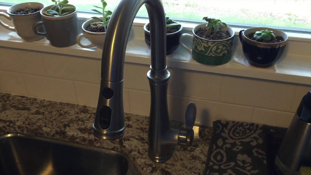 Fixing Low Kitchen Faucet Water Pressure on a Kohler Bellera K-560 ...