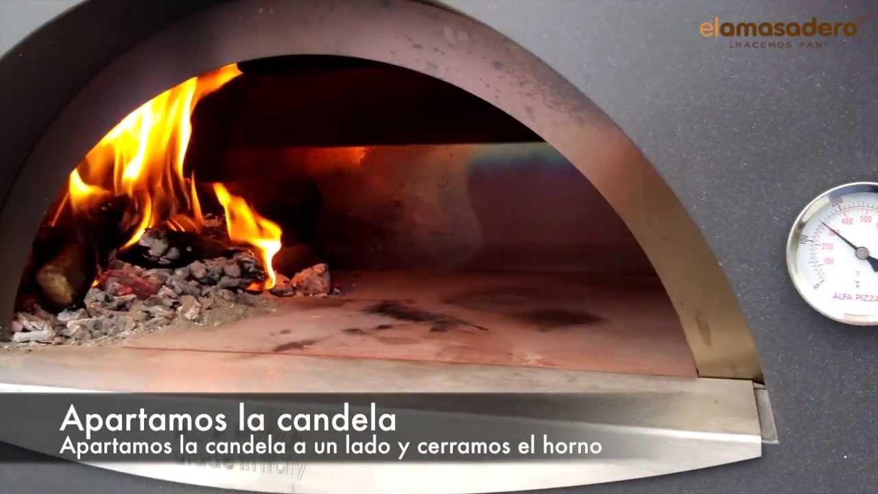 C mo encender el horno de le a alfa pizza youtube - Como hacer pizza en horno de lena ...