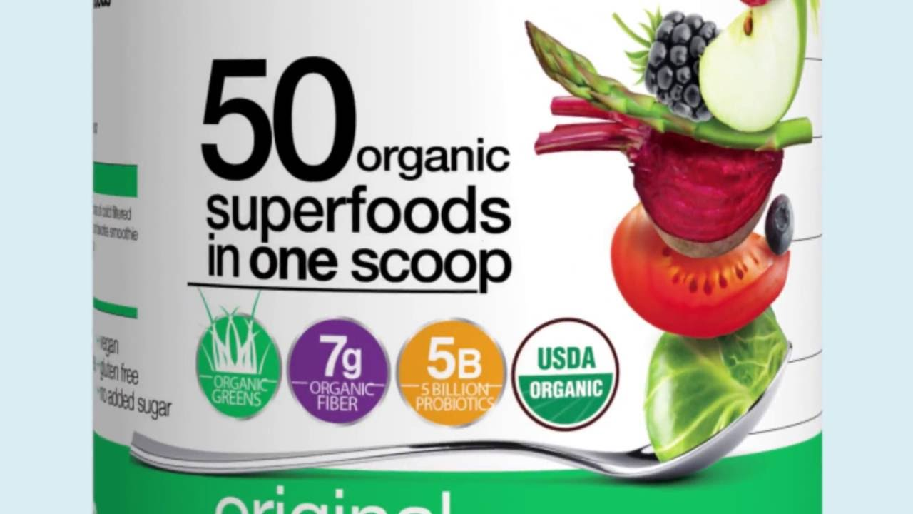 Orgain Organic Superfoods Powder