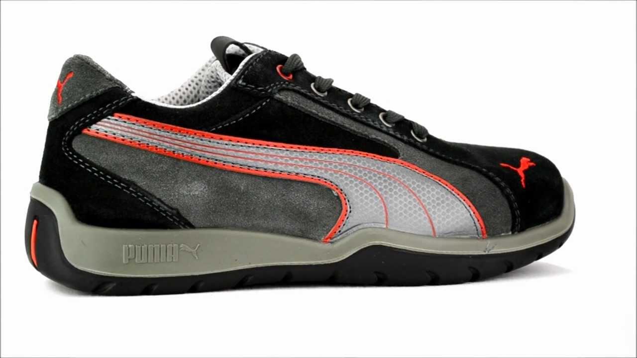 c68f18f1d2a Men s Puma 642685 Steel Toe Work Shoe   Steel-Toe-Shoes.com - YouTube