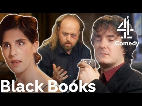 Black Books | The Funniest Moments From Series 2!