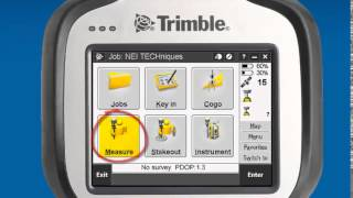 Trimble Access:  How to configure the base and rover with and external base radio