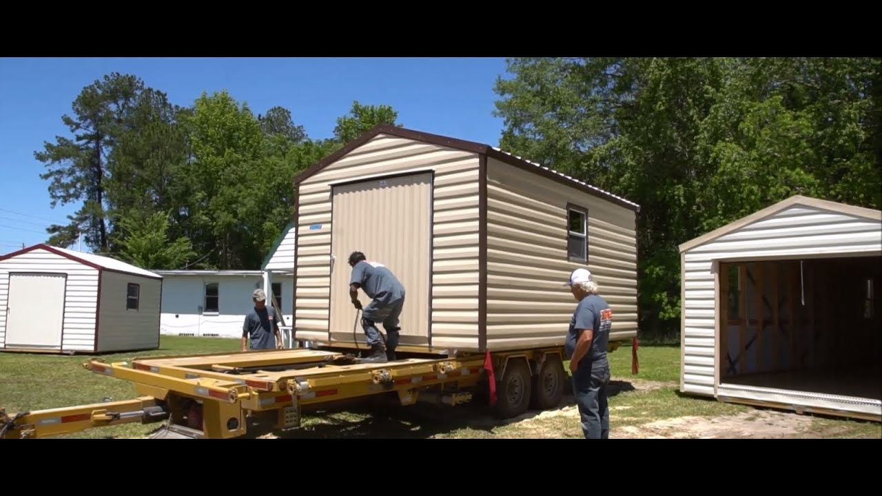 Delicieux Portable Buildings And Sheds From LD Buildings Jacksonville, FL