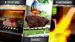 Searzal vs Otto Grill vs Flamethower who finishes the best SOUS VIDE STEAK