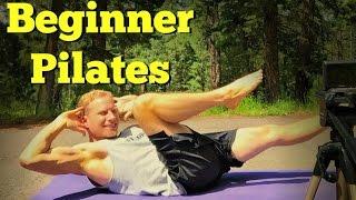 Easy Pilates for Total Beginners - Basic Beginner Workout Program (part 2 of 6)