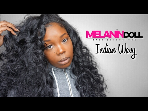 RAW INDIAN HAIR | Melanin Doll Hair | Indian Wavy | Initial Review