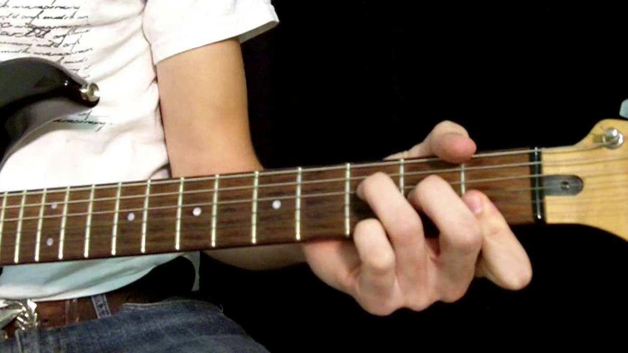 How To Play Big Me By The Foo Fighters Basic Chords Youtube