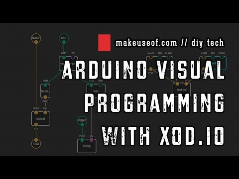 Arduino Visual Programming, with XOD io