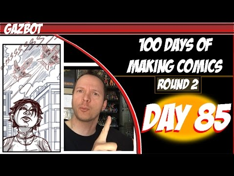 100 Days of Making Comics Round 2: Day 85 - Client work price adjustments and booking shows
